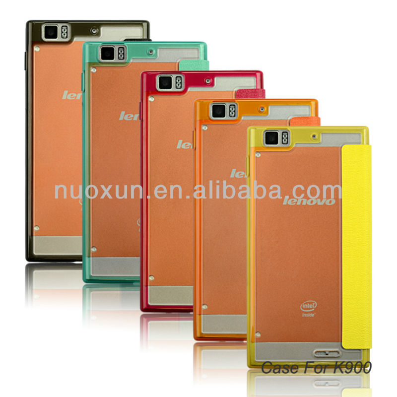 Exclusive flip protective case for lenovo k900