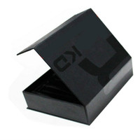 Luxury Black Cardboard Folding Box Magnetic