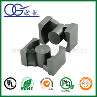 Mn-Zn PC40 PQ series ferrite split core in magnetic material for bobbin by manufacturer