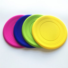 For the health of pets,you need some silicone pet toys like frisbee or flying disc
