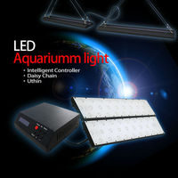Hotsale! 2012 new Ultra Thin/120 watt led reef coral aquarium lights