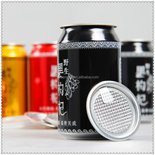 wholesale round aluminum can for 330ml drink
