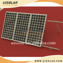 Adjustable Flat roof solar panel mounting frames