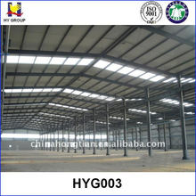 Steel structure low cost prefab warehouse