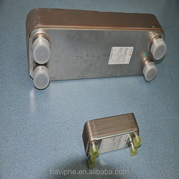 паяный пластинчатый теплообменник схема