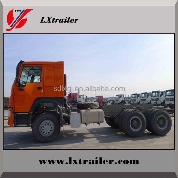 Cheap HOWO brand new 6X4 trailer truck / tractor truck for Africa market