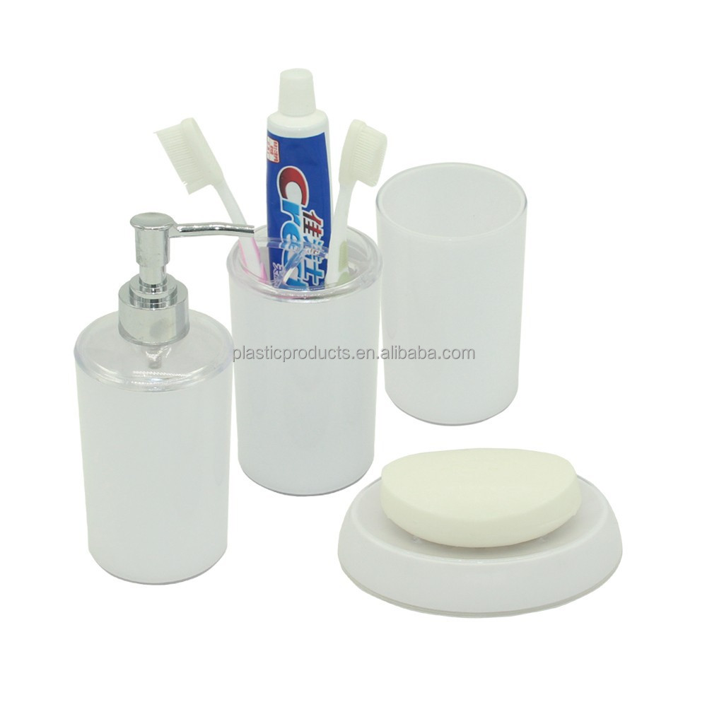 Promotional white cheap bathroom sets buy cheap bathroom for Affordable bathroom sets