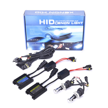 Car Light 35w 55w HID Xenon Conversion Kit Slim Ballast H1 H3 H4 H7 H11 9005 9006 Xenon HID Kit