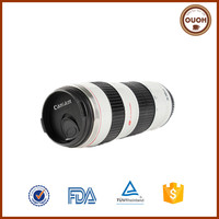 Factory Wholesale Caniam 70-200mm 2G Camera Lens Stainless Steel Camping Screw Lid Travel Mug