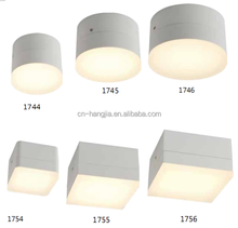1744-1746 IP54 Round LED Ceiling Light With Three size