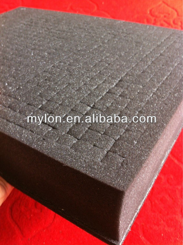 Charcoal Pick and Pluck foam for cases and packaging