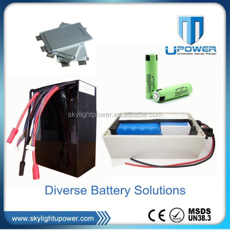 Factory Customized li-ion battery pack 12v 30ah with import 18650