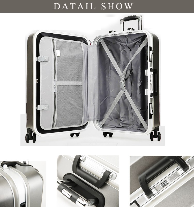 PC Trolley Luggage Suitcase , Classical Hard Trolley Case , Wheeled Trolley Luggage