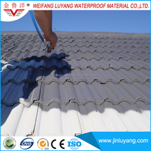 nano silicone rubber waterproof coating for steel tile