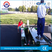 Running Road Rubber Paver Machine price