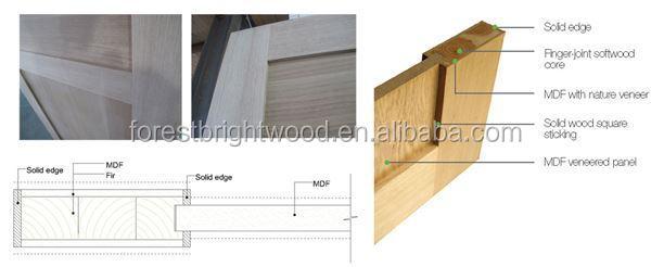 2015 New Product Wooden Doors Design Teak Wood Door Models