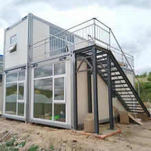 Romantic Installation Steel Frame Home Assembly Prefabricated Container House