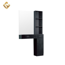 Hot sale luxury hair salon mirror table station