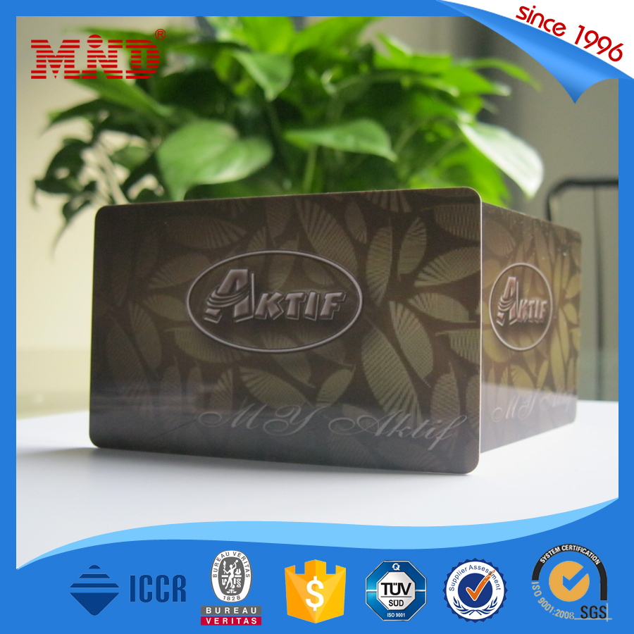 MDCL268 ISO 14443A 13.56MHz contactless nfc smart card with compatiable classic 1k chip