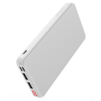 YOOBAO P10D PowerDesire 10000mAh Slim Portable Charger; Three Input/ Two Output / LED; Stripe Power Bank
