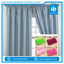 Classic home textile satin curtain fabric for japan home textile importers