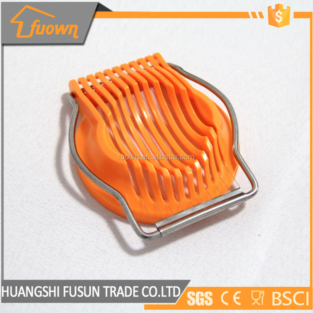 High quality plastic egg slicer/egg cutter/egg tools