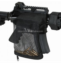 Mesh Bag Rifle Gun Tactical Brass Shell Catcher Bullet Casing AR15 Capture