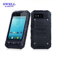 China Factory Quadcore Black Rugged Phone Micro SIM Card Slot Low End Phone