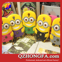 Various Models Support, Despicable Me 2 Minions 3D Silicone Soft Case