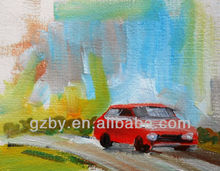 Painting Buy Direct China,Best price for Canvas Oil Painting Car
