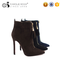Three color famous brand high neck women shoes 2016 winter women boots in europe