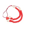 Wholesale Fashion Accessories For Woman Odorless Stylish Mom Wear Silicone Nursing Teething Jewelry For Baby Chew