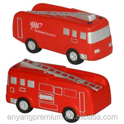 Fire truck PU stress ball Promotion Gift