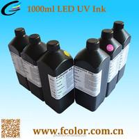 3D LED UV Ink Print for Flatbed Printer DX5 UV Ink
