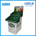 Advertising Cardboard floor display rack for sausage/food