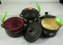 Ceramic Matt-glaze Cheese Baker with Spoon for BS150112