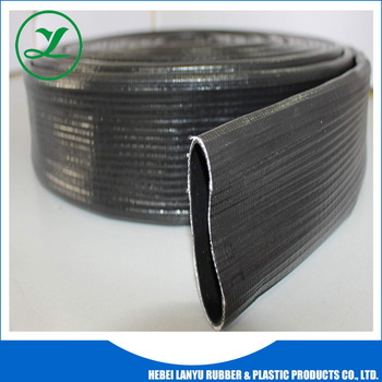 "New Products Hot Selling Best Price supply 10"" flexible water pipe Pvc layflat hose pipe"
