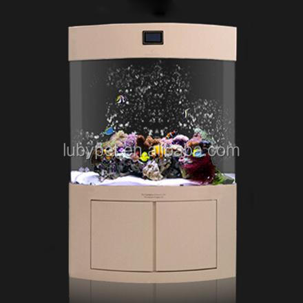 super aquatic New Acrylic View fish home tank for ornamental fish, with filter and light KK series