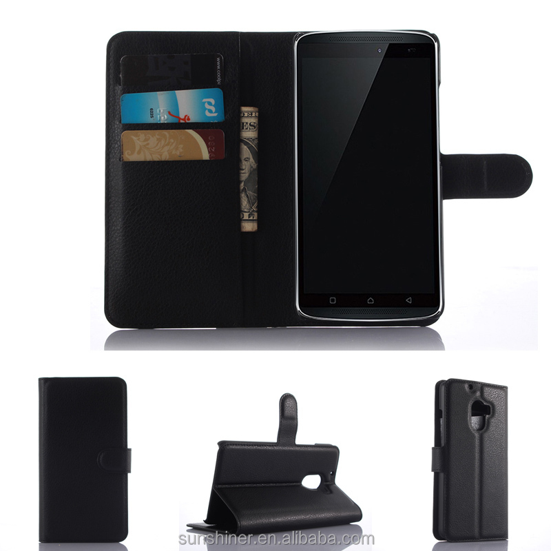 Wholesale Flip Wallet Phone Cover Case For Lenovo A7010