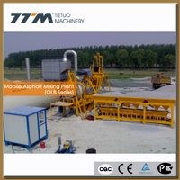 20t/h Mobile small asphalt hot mix plant, mobile asphalt plants,bitumen hot mix plant