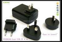Wholesale usb wall charger for iphone 4 usb home charger