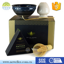 Hot selling eco-friendly tea tool matcha tea gift set with best price