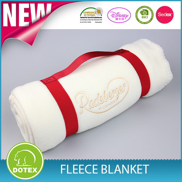 china low price products rolled Fleece Blanket