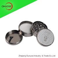 ONUOSS High Quality 060JA Zinc Grinder 4 Part 4 inch Herb Grinder