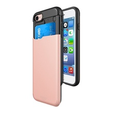 Rock phone cover leather for iphone 7 case, mobile phone hard case for iphone 7