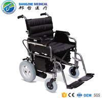 Luxury folding handicapped electric wheelchair saudi arabia with motor