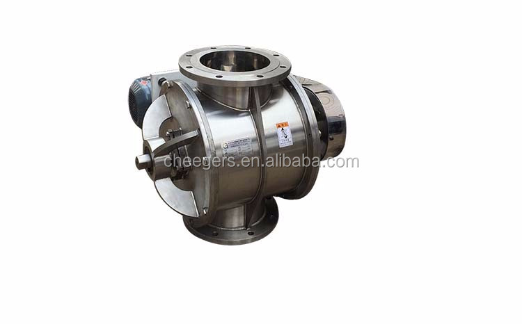 Rotary Airlock Valve for Calcium Ammonium Nitrate Powder