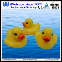Middle size duck promotion and swimming toy duck