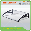 New Plastic awning material for polycarbonate door awning canopy