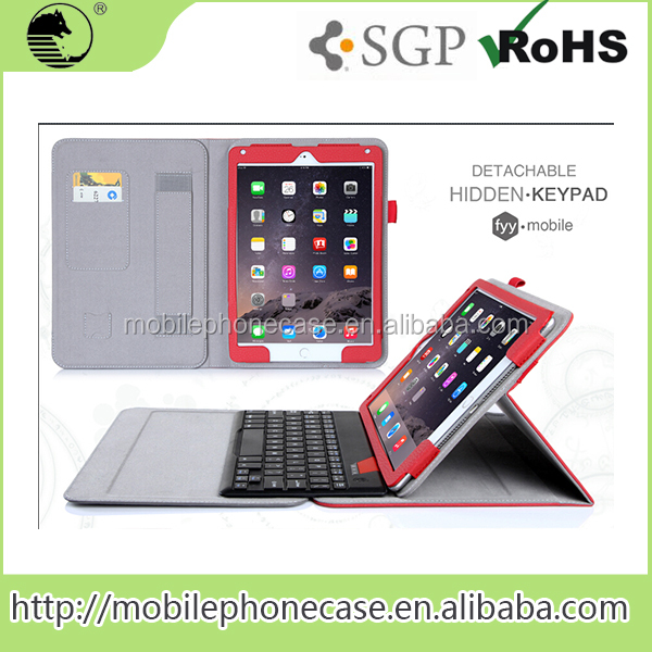 Manufacture Wholesale Customize Welcome Bluetooth Keyboard Case For Apple iPad Air 2